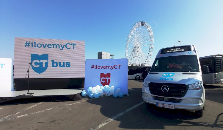 18 minibuze de ultimă generație, vor circula pe rutele vechilor microbuze din Constanța