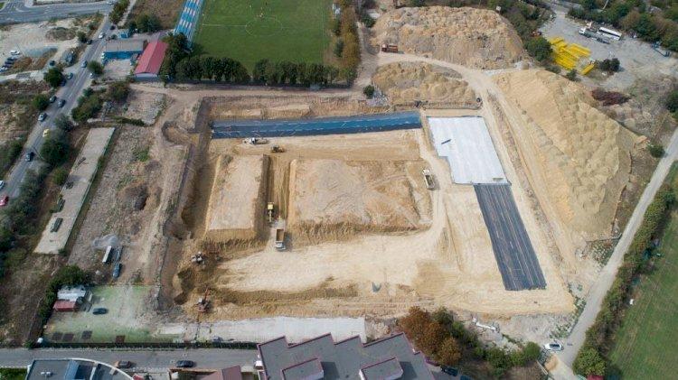 Sala Polivalentă Constanța: Echipele de constructori au finalizat săpăturile pentru fundația clădirii