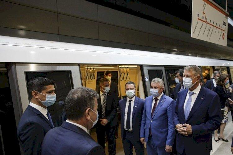 Iohannis, la inaugurarea magistralei M5: Cea mai mare realizare de după Revoluție