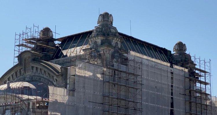 Avansează lucrările de restaurare la Cazinoul din Constanța