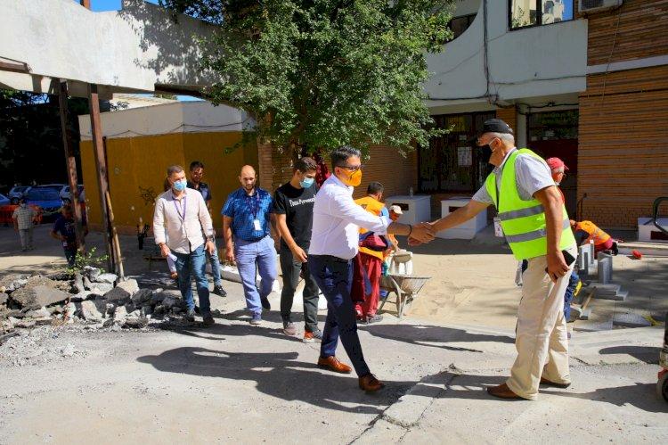 Primăria Constanța a amenajat un nou spațiu de recreere pentru constănțeni