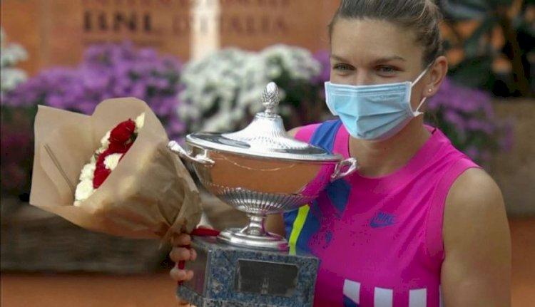 Simona Halep este campioană la Roma