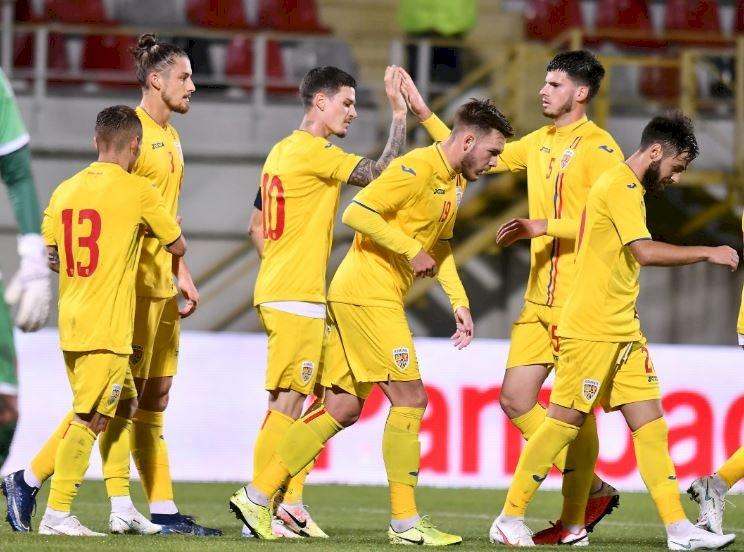 România a învins fără probleme Malta cu 4-1, în preliminariile Campionatului European Under-21