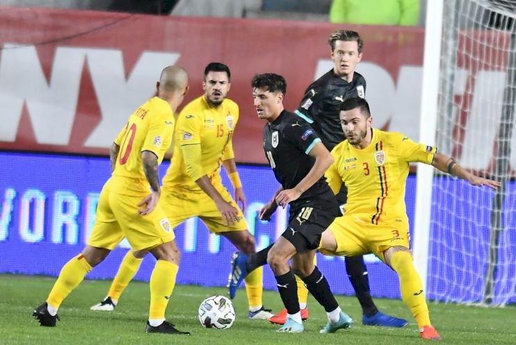 România - Austria 0-1. Trei înfrângeri într-o săptămână pentru naţionala României