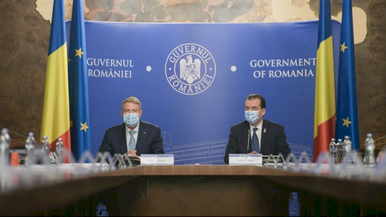 Iohannis: Școlile să treacă în online toate, magazinele închise după ora 21.00, târgurile și piețele trebuie închise