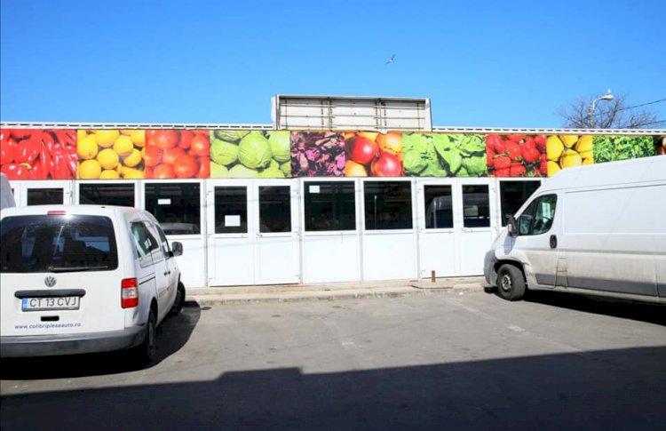 Atenție, constănțeni! De luni, se închid piețele agroalimentare din oraș