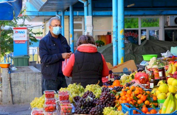 Chițac: Producătorii vor fi direcționați către locurile rămase libere în piețele care nu se închid