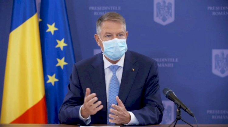 Iohannis: Restricții severe până vom avea vaccin. Avem deja o strategie de vaccinare anti-COVID.