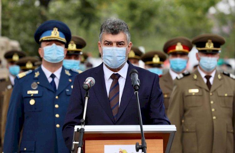 Ciolacu: Veteranii sunt un simbol al onoarei, vitejiei şi demnităţii militare