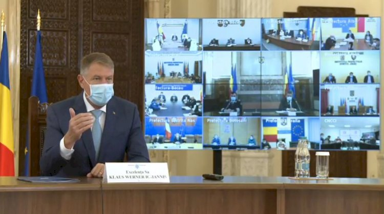 Iohannis: Suntem cu toții foarte îngrijorați. Pe primul loc pentru noi toţi este sănătatea românilor