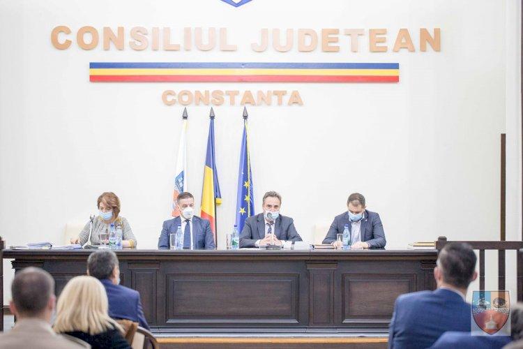 Stelian Gima și Petre Enciu, noii vicepreședinți ai Consiliului Județean Constanța