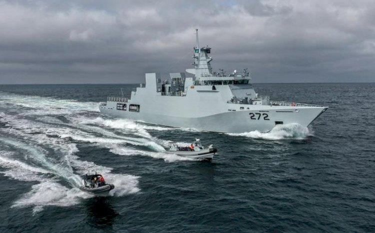 Corveta PNS Tabuk construită ȋn România a fost predată oficial Marinei Militare din Pakistan