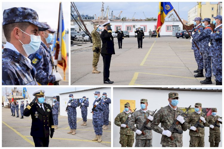 FOTO - Ziua Scafandrilor Militari și Scafandrului Român, sărbătorită la Constanța