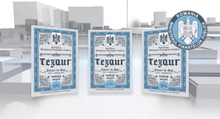 Până pe 14 decembrie, românii pot cumpăra titluri de stat prin programul Tezaur