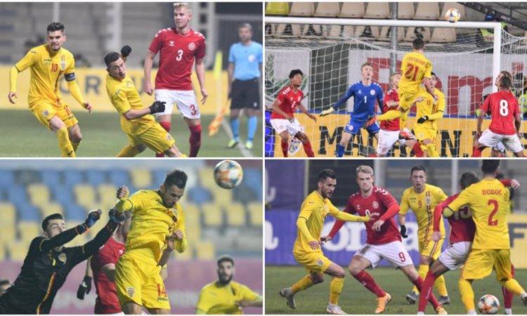 România U21 - Danemarca U21 1-1. Naționala de tineret calificată la EURO pentru a doua oară consecutiv