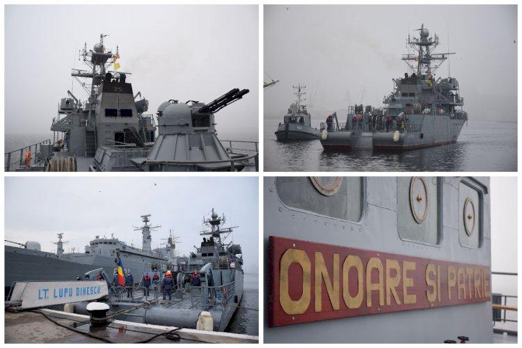 Dragorul maritim Locotenent Lupu Dinescu încheie ultima misiune NATO din anul 2020