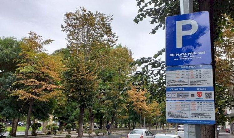 A fost suspendată plata parcărilor din Constanța