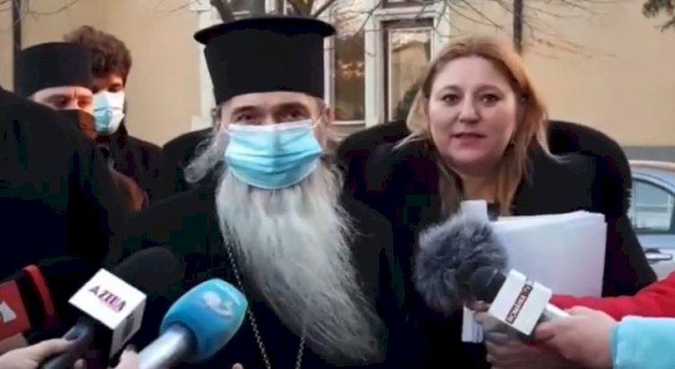 IPS Teodosie: Vrem ca astăzi să ne apărăm drepturile de a avea cale liberă spre Peștera Sfântului Andrei