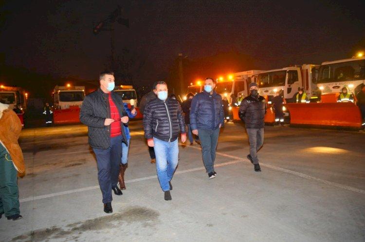 Primăria Constanța, pregătită să intervină în sezonul rece pentru deszăpezirea orașului