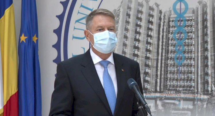 Iohannis: Avem în spitalele noastre oameni foarte bine organizaţi, dedicaţi