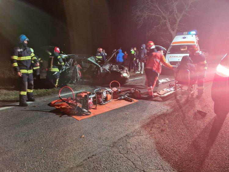 FOTO Accident rutier grav între Ciocârlia și Cobadin. Un tânăr de 23 de ani a decedat
