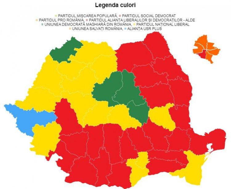Rezultate finale BEC alegeri parlamentare 2020. PMP și PRO România nu intră în Parlament
