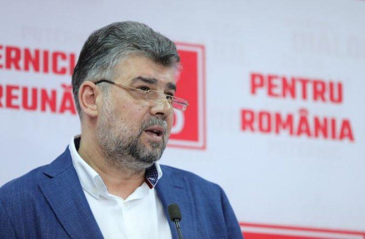 Ciolacu: Democratic nu vom vota niciodată o altă persoană ca şi prim-ministru în afară de Alexandru Rafila