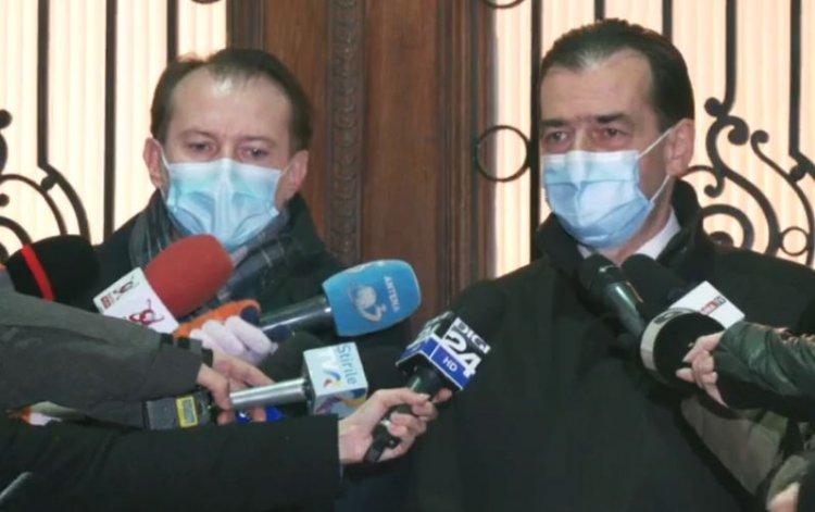Orban: Iohannis l-a propus pe Cîțu. Vrem Guvern cu USR-PLUS, UDMR și minorități. Cîţu: Este o onoare această nominalizare
