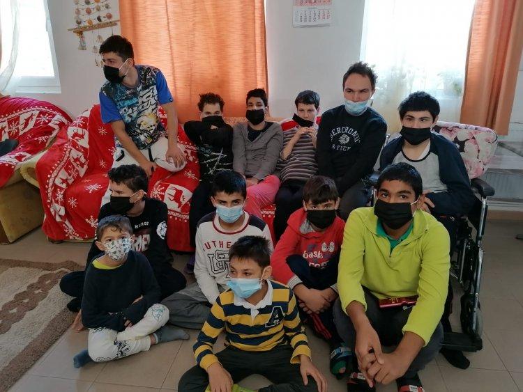 Ce își doresc, de moș Crăciun, copiii de la Complexul de Servicii Comunitare Sparta Rotterdam din Techirghiol