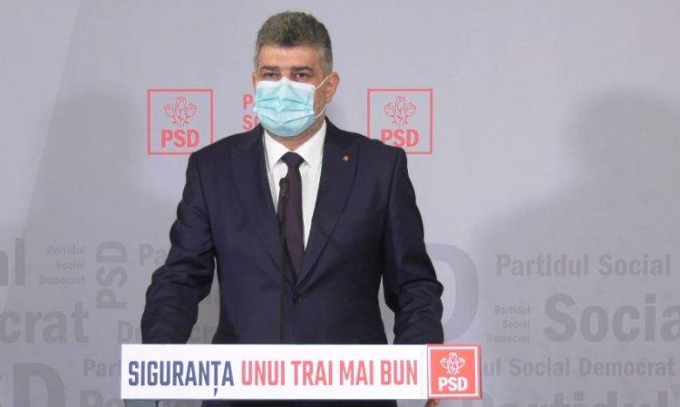 Ciolacu: Președintele ne-a felicitat că PSD a câștigat alegerile. Propunerea lui Rafila este onorabilă