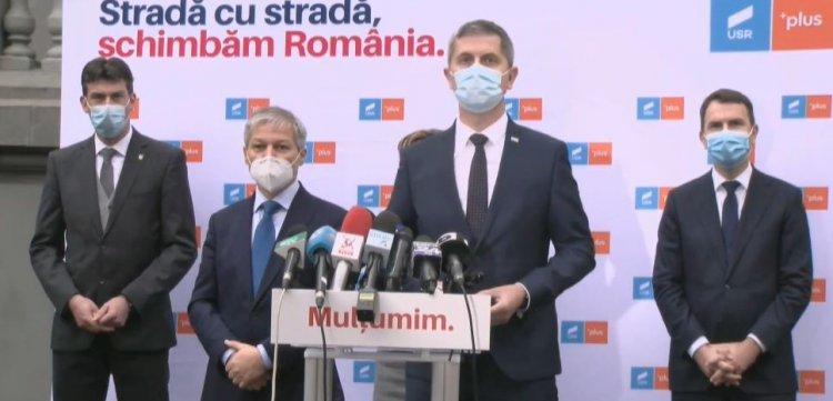 Dan Barna: Dacian Cioloș este propunerea USR-PLUS ca de premier. Nu vrem nicio formulă în care PSD-ul să fie implicat