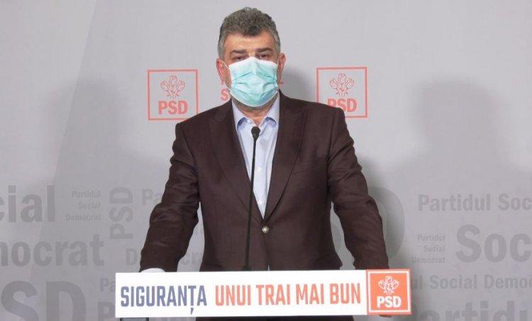 Ciolacu: Nicio funcție din Parlament nu va fi ocupată de către niciun membru al conducerii PSD