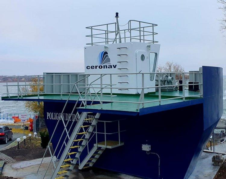 CERONAV a inaugurat un poligon de instruire marinărească