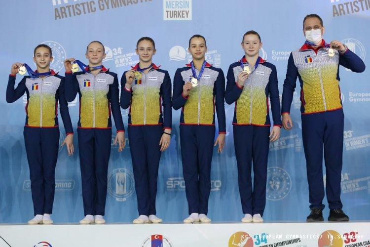 România, medaliată cu aur și argint, la Europenele de Gimnastică de la Mersin