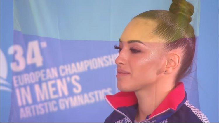 Larisa Iordache, dublă campioană europeană la Mersin în finala pe aparate. 13 medalii pentru România la Europene