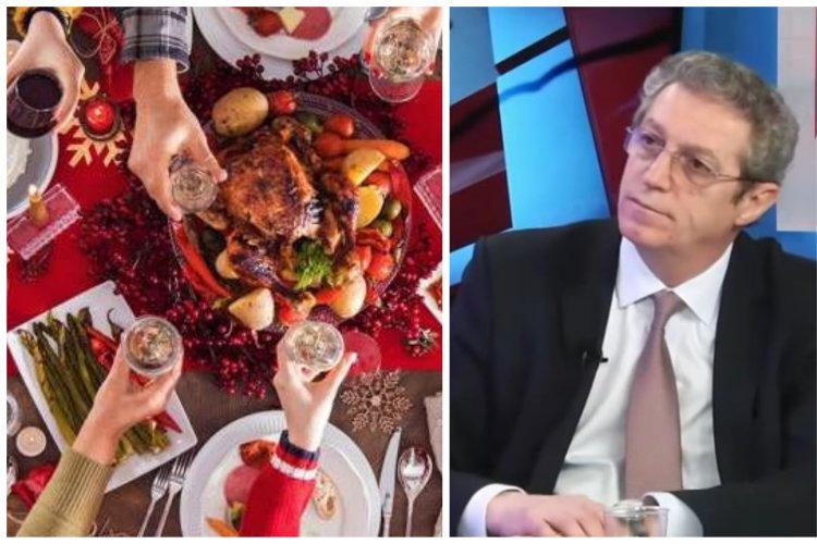 Adrian Streinu Cercel, recomandare șoc: La masa de Crăciun mâncați pe rând sau cu masca pe nas!