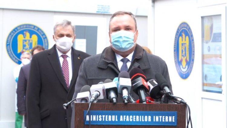 Ciucă: Avem tot ce ne trebuie pentru a demara campania de vaccinare pe 27 decembrie