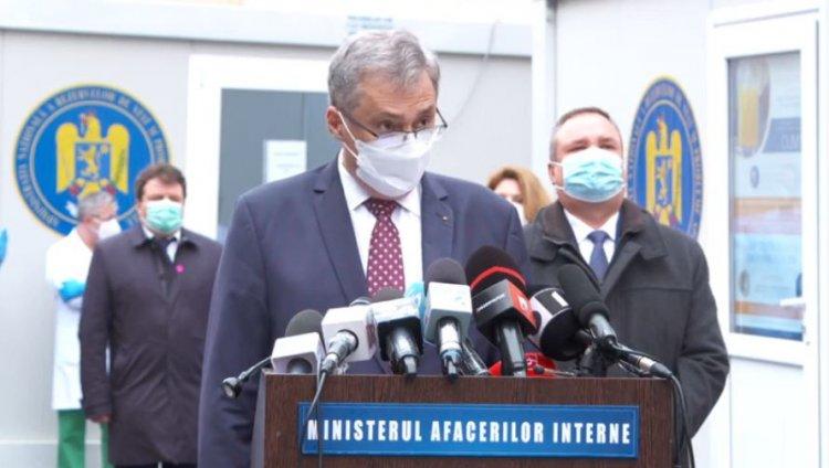 Marcel Vela anunţă construirea unui nou spital al MAI, care va avea şi o bancă de plasmă convalescentă