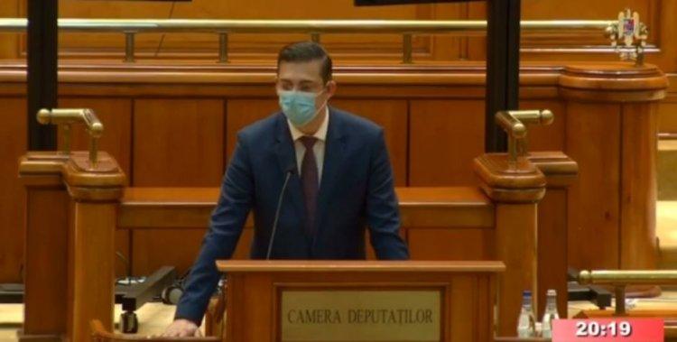 Horia Țuțuianu a depus jurământul: Am pornit astăzi, datorită dumneavoastră, pe acest nou drum!