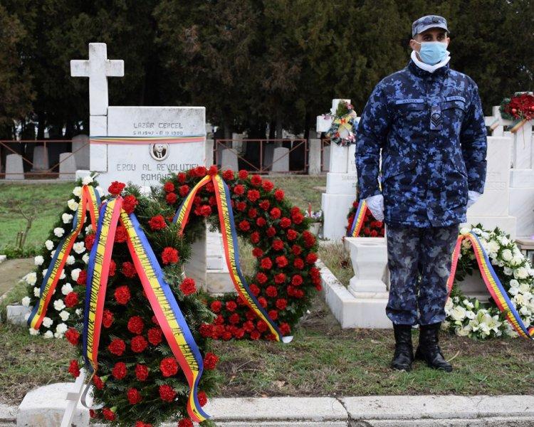 FOTO Eroii din Decembrie 1989 comemorați în condiții de pandemie