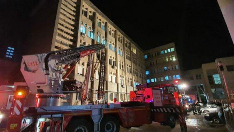 Un nou incendiu la un spital COVID-19. Șapte oameni au murit