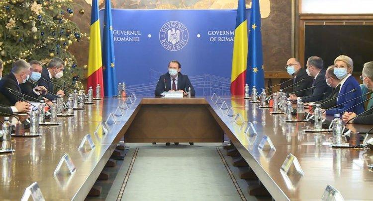 Cabinetul Cîțu a adoptat o OUG care reglementează noua structură a Guvernului și a ministerelor