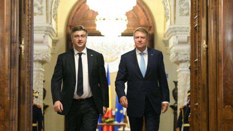 Klaus Iohannis: Suntem pregătiți să oferim sprijinul necesar Croației