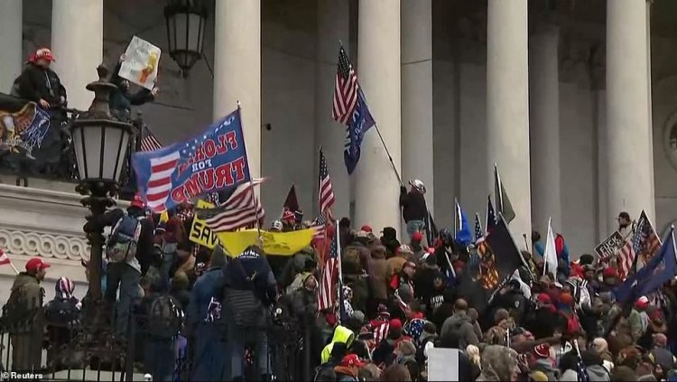 Proteste violente în SUA. Congresul evacuat de urgență