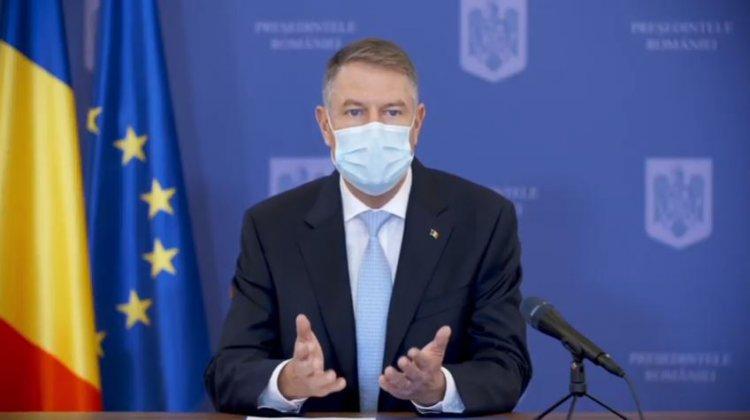 Iohannis: Mă voi vaccina public, pe data de 15 ianuarie. Vaccinarea în masă va duce la normalitate