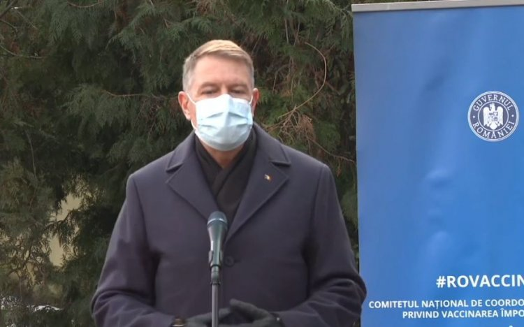 Iohannis: Multă lume vrea să se vaccineze. Sperăm ca la vară să terminăm pandemia