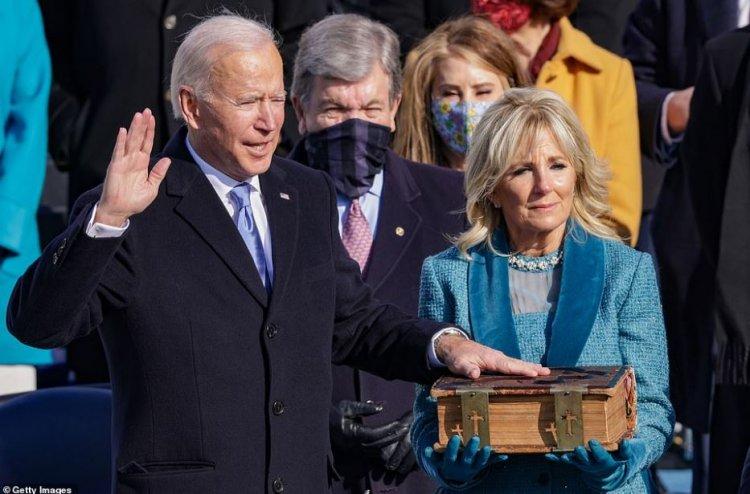 Joe Biden, după jurământul de învestire: Este ziua Americii, este ziua democrației, o zi a speranței