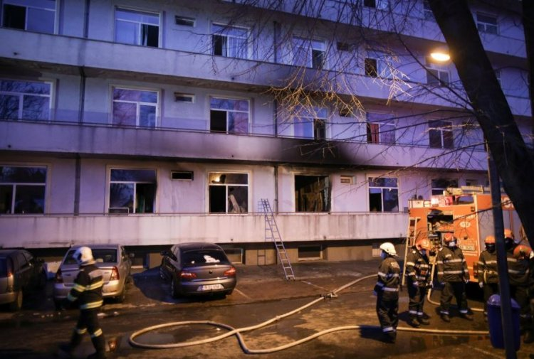 A cincea victimă carbonizată a fost găsită în baia spitalului Matei Balș