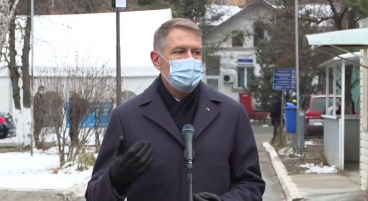 Iohannis: O zi foarte tristă. Situația se repetă. Medicii au fost, sunt și rămân eroii mei