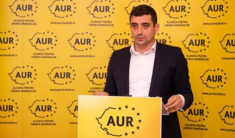 George Simion: Vom lansa pe 27 martie, AUR ca partid politic şi în Republica Moldova